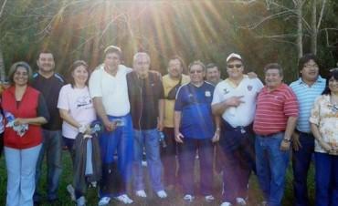 Gremialistas juntos en la peregrinación a San Cayetano