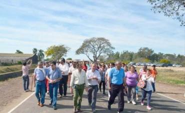 Bassi criticó a la Provincia, negó fisuras y anunció la inauguración del frigorífico