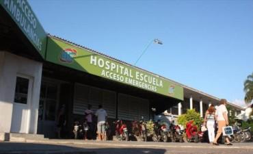 Accidentados y casos de ACV colapsan los servicios del hospital Escuela
