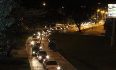 El puente Belgrano y la avenida 3 de Abril, reiterados escenarios del caos en el tránsito