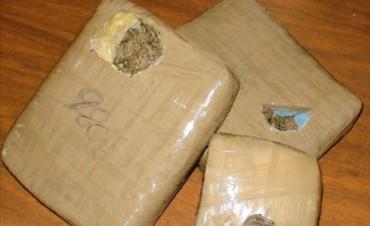 Libres: la policía incautó más de 340 kilos de marihuana