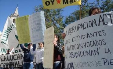 Alumnos de Criminalística levantaron la toma pero piden la renuncia del director