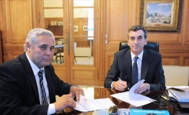 Municipio y Nación firmaron el acuerdo para financiar el sistema integrado de transporte
