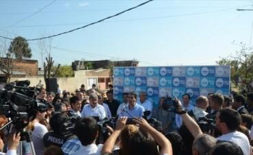 Inauguraron la pavimentación de avenida Las Heras y anunciaron obras en otras 70 cuadras