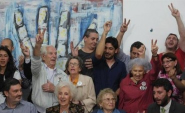 """La nieta 115 es de """"Licha"""", correntina y fundadora de Abuelas de Plaza de Mayo"""