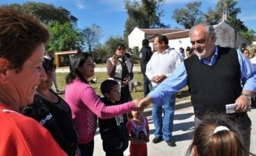 Colombi emprende extensa gira por el interior provincial