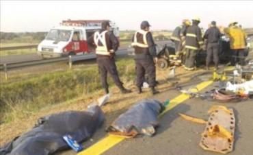 En menos de ocho horas murieron cinco personas en accidentes de tránsito