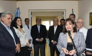 Con acento en el carácter público de la obra, inauguraron el nuevo servicio de Oncología