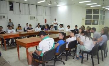 El sábado sesiona por primera vez en el año el Parlamento Juvenil goyano