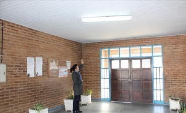 En la Escuela Nº 290 volvieron a clases luego de la reparación del cielorraso
