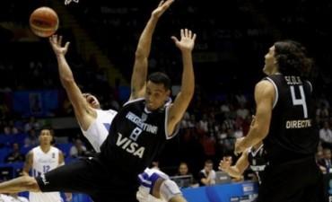 Mundial de basquet: brillante triunfo de Argentina ante Puerto Rico