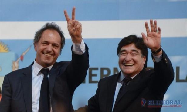 Scioli y Zannini cierran su campaña con un acto en Tecnópolis