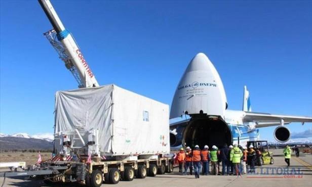 El Arsat-2 va rumbo a la Guayana francesa para ser lanzado al espacio