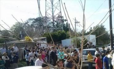 Una multitud despidió a Maxi Aquino en San Roque