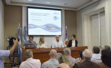 Presentaron avances del nuevo sistema integrado del transporte urbano de Capital