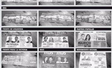 Todo listo para las Paso: habrá 19 boletas distintas en el cuarto oscuro correntino