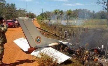 Cayó avioneta piloteada por ex presidente de Paraguay