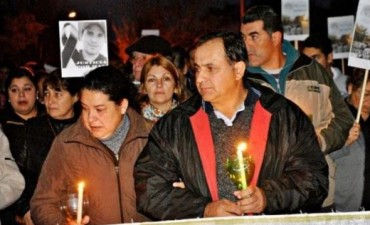En San Roque volvieron a marchar por el esclarecimiento del crimen de Maxi