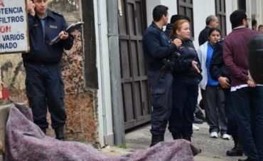 Falleció un operario de Telecom al caer desde el techo de una vivienda céntrica