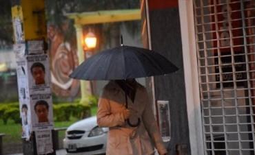 Las lluvias seguirían hoy y luego vendría una baja en las temperaturas