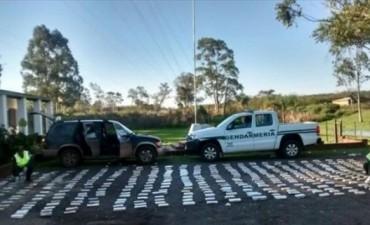 Secuestraron 292 kilos de marihuana transportados en una camioneta