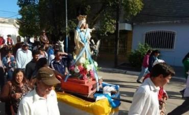 En San Luis rinden tributo a su santo patrono junto a peregrinos de Itatí y de varios parajes