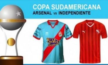 Independiente vuelve al plano continental frente a Arsenal