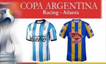 Racing enfrenta a Atlanta en Busca de los cuartos de la Copa Argentina
