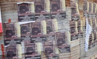 Con una pegatina de afiches amenazaron de muerte al abogado Rubén Leiva