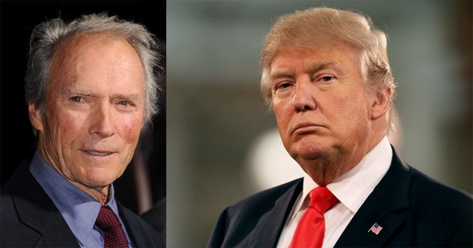 Clint Eastwood votará por Donald Trump