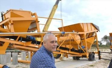 La Municipalidad se prepara para tener su propia planta productora de hormigón