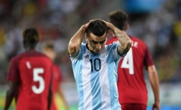 Debut y derrota de la Selección en los Juegos