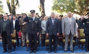"""Día de la Policía: Horacio Ortega destacó """"vocación de servicio y profesionalidad"""""""