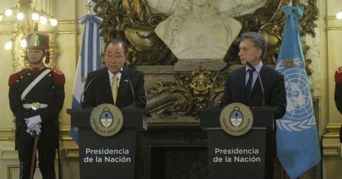 Ban Ki-moon elogió el