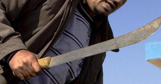 Bestia mató a su concubina de machetazo en la cabeza