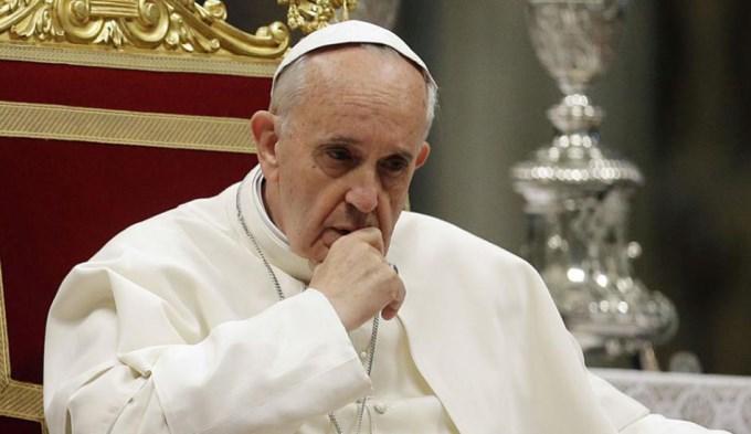 El Papa expresó su