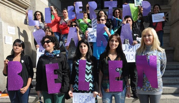 Marchas para pedir la liberación de la joven presa tras un aborto espontáneo