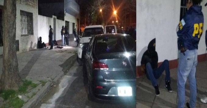 Momentos de tensión por comerciante secuestrado en Pompeya