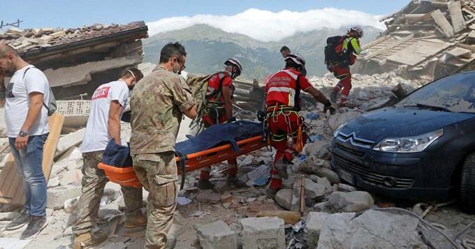 No hay víctimas argentinas por el terremoto en Italia