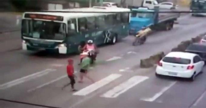 Sicarios mataron a motociclista a la vista de todos