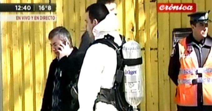 Temor en Flores: evacuaron a vecinos por escape de amoníaco