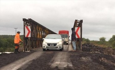 Restringen tránsito pesado en el Iribú Cuá y suspendieron cruce en lancha en el Guazú