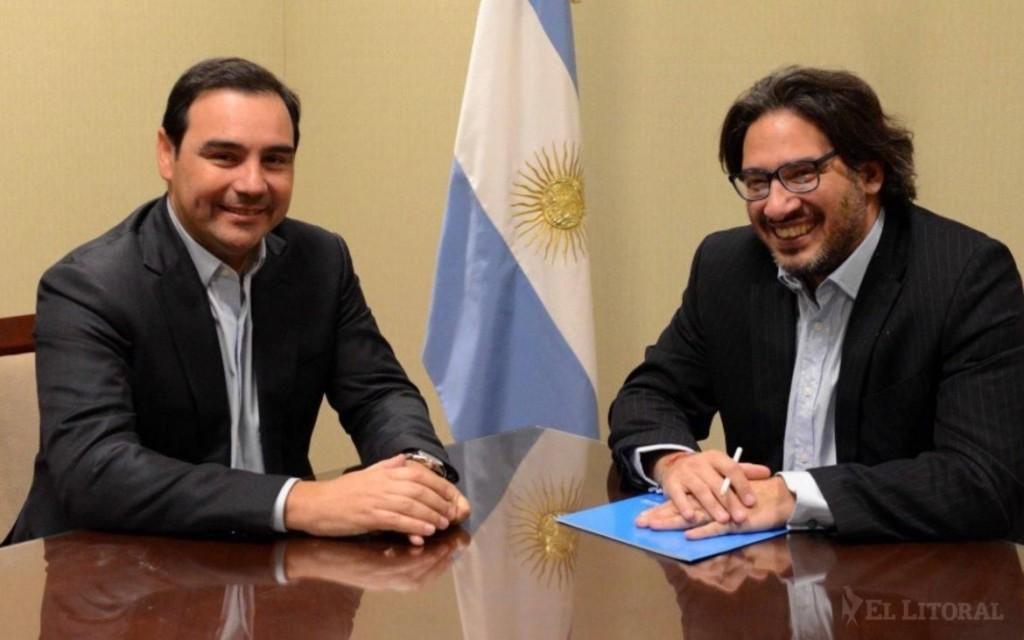 Valdés se reunió con Garavano para avanzar con el traslado del Penal 1