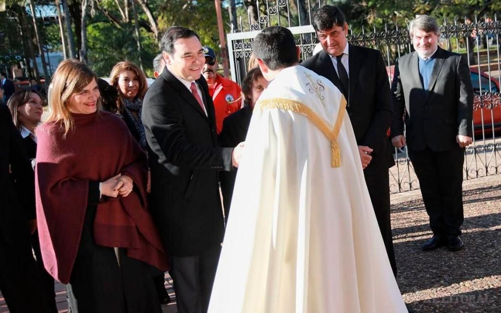 Valdés destacó como logro de su gestión el compromiso de la EBY de realizar obras