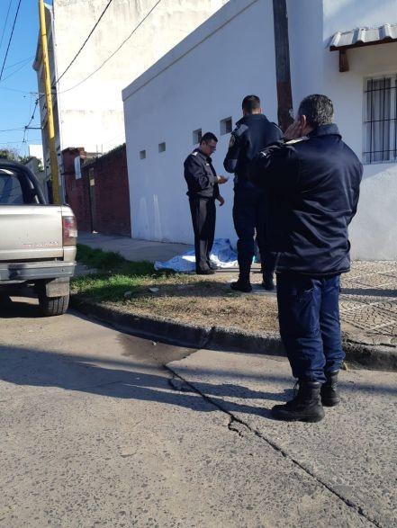 Un hombre falleció por muerte súbita en plena calle