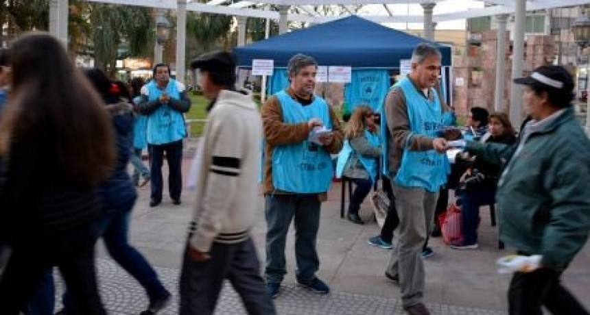 Asambleas docentes locales, en el marco de la protesta nacional de la Ctera