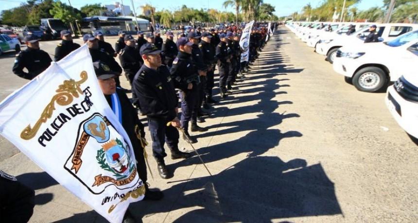 Anuncian incorporación de efectivos, móviles y equipos para la fuerza