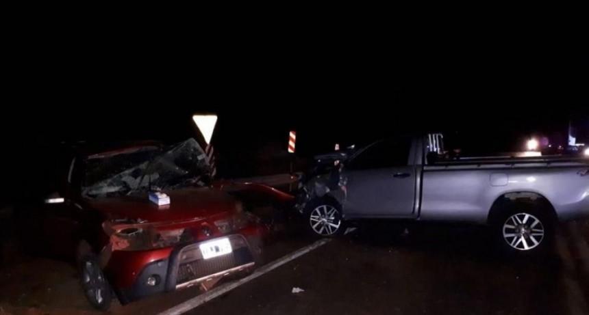 Murieron cuatro pastores evangélicos en el choque entre dos camionetas en Liebig