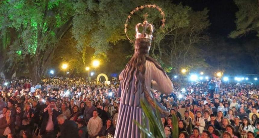 La Cruz honra a la Virgen de Asunción de Acaraguá y Mbororé y se realizará un festival con Los Huayra