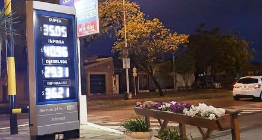 YPF volvió a incrementar el precio de sus combustibles